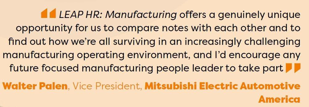 Manfacturing quote